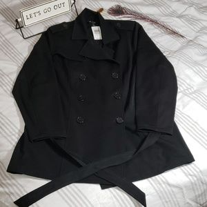 Twill Trench Coat, Torrid size 1, NWT